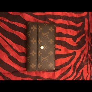 Louis Vuitton Monogram Canvas Porte Tresor Wallet